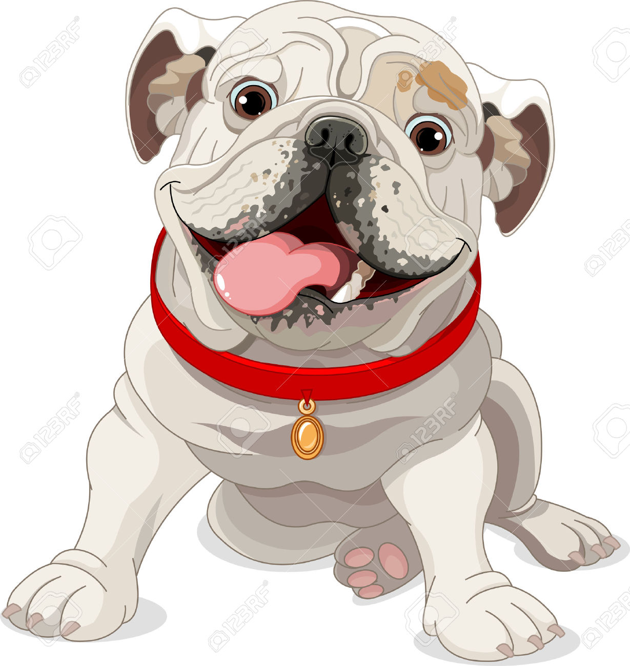 English Bulldog clipart #1, Download drawings