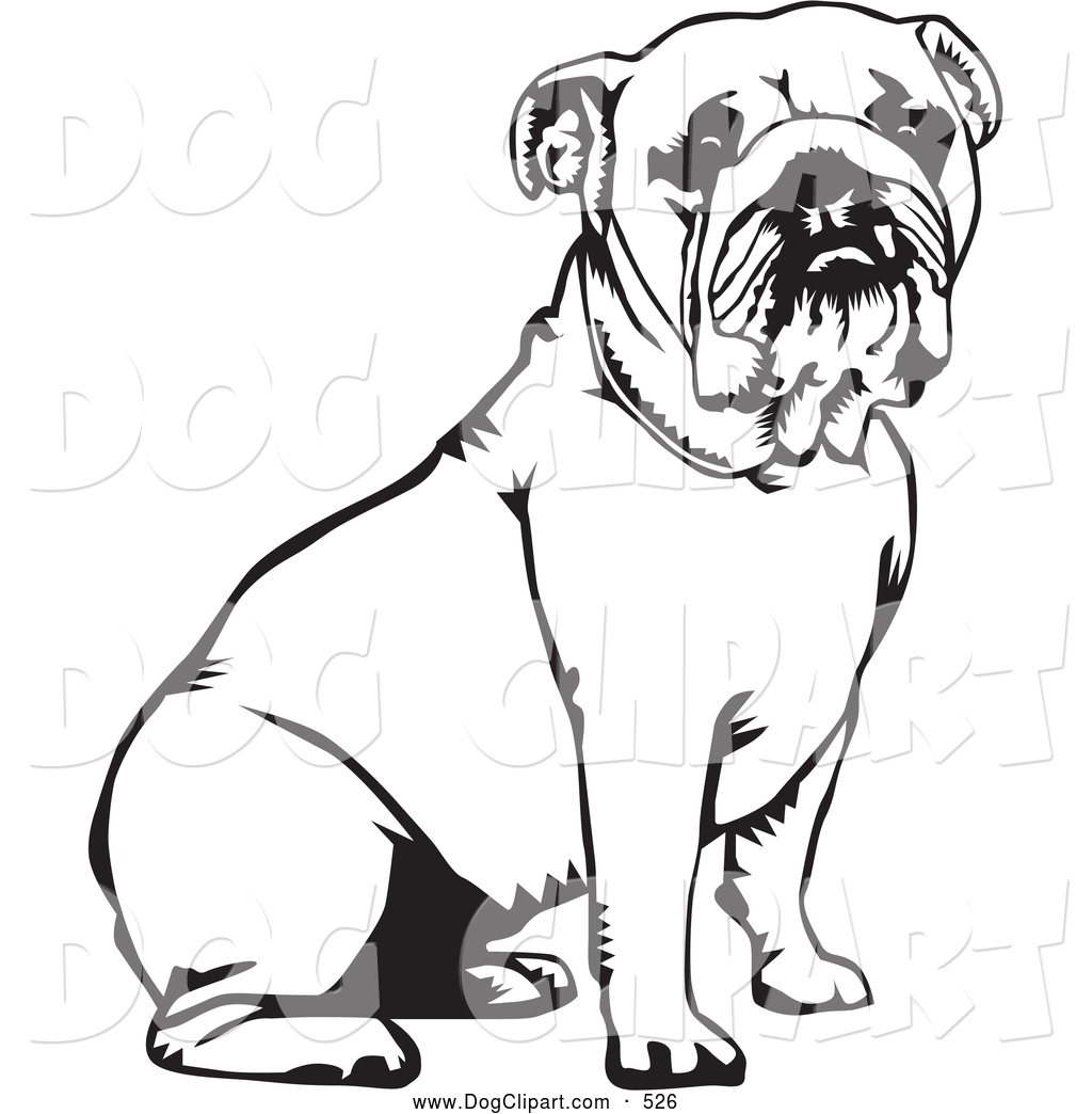 English Bulldog clipart #2, Download drawings