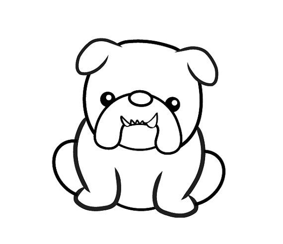 English Bulldog svg #998, Download drawings