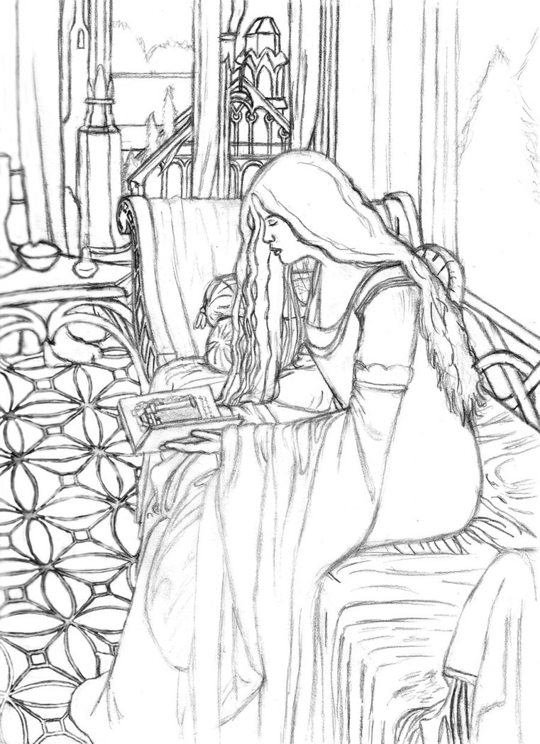 Eowyn coloring #12, Download drawings