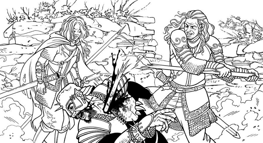 Eowyn coloring #17, Download drawings