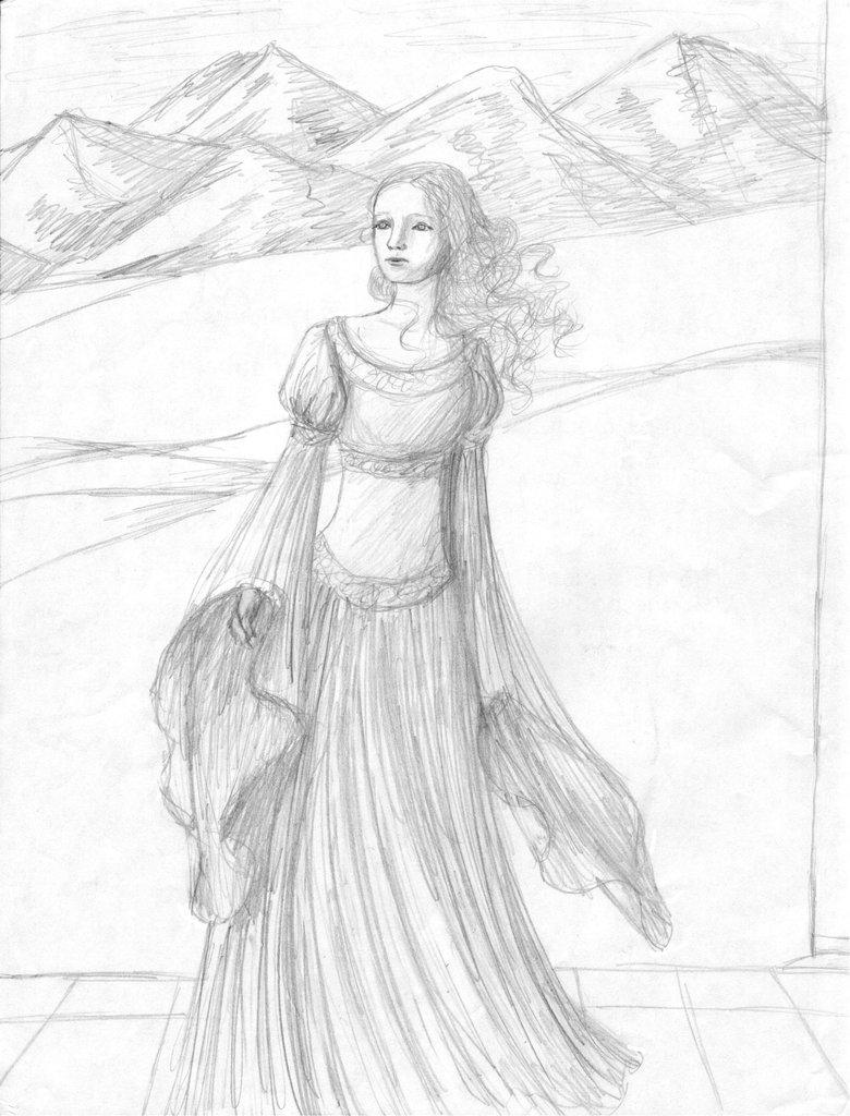Eowyn coloring #3, Download drawings