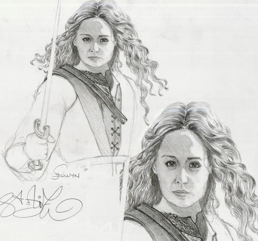Eowyn coloring #3, Download drawings