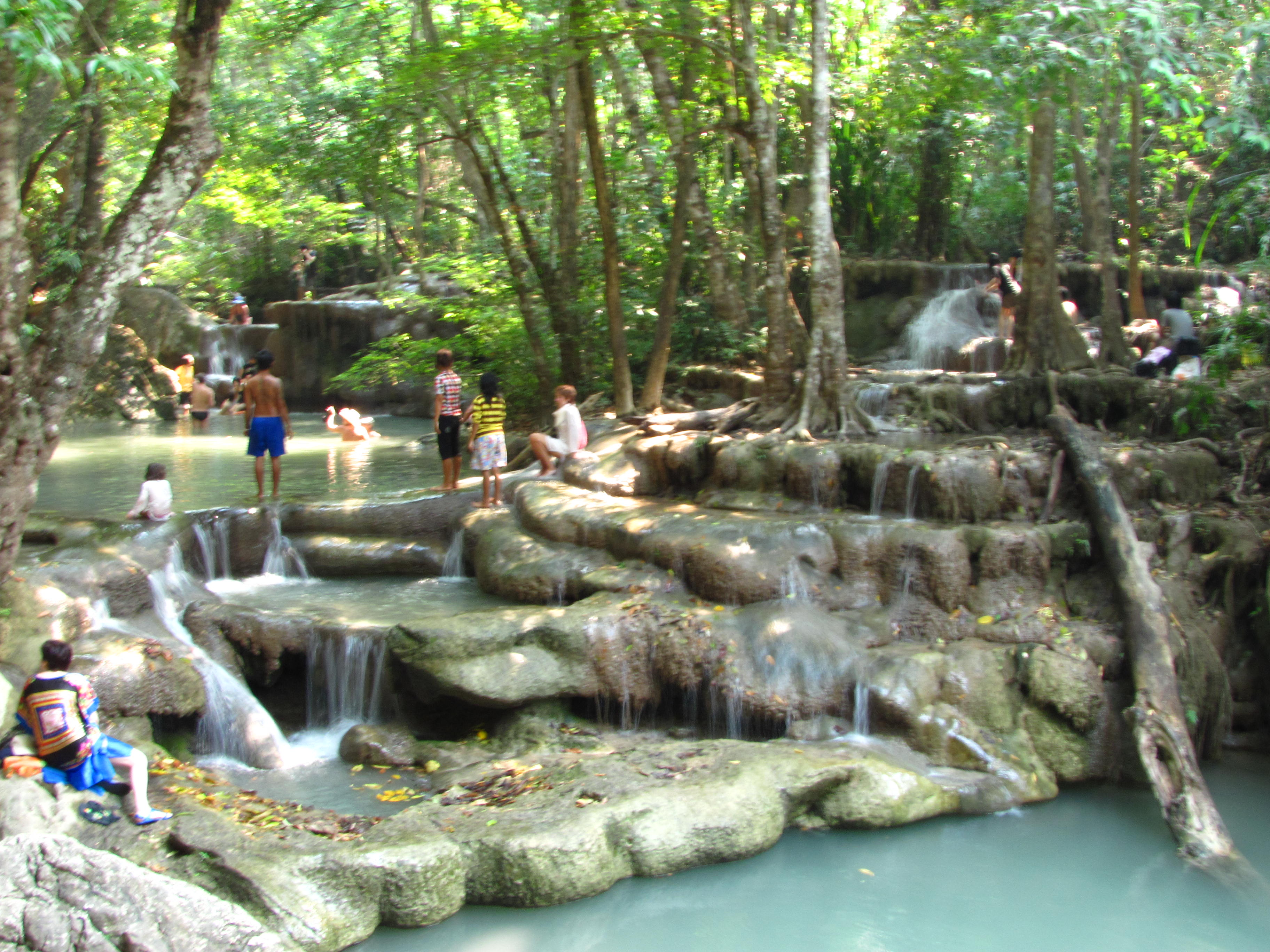 Erawan Falls svg #6, Download drawings