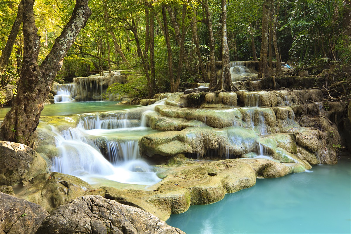 Erawan Falls svg #12, Download drawings