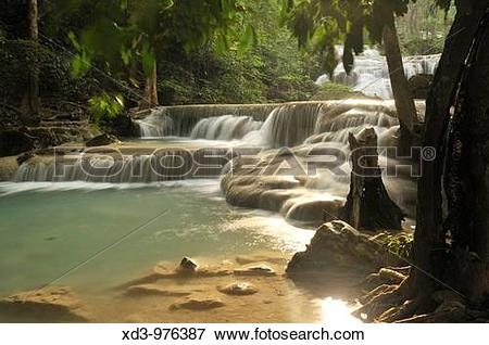 Erawan Waterfall clipart #2, Download drawings