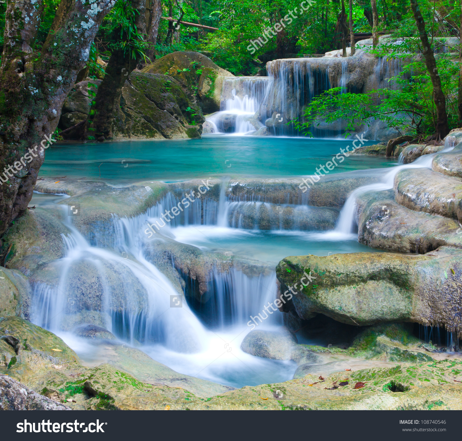 Erawan Waterfall clipart #13, Download drawings