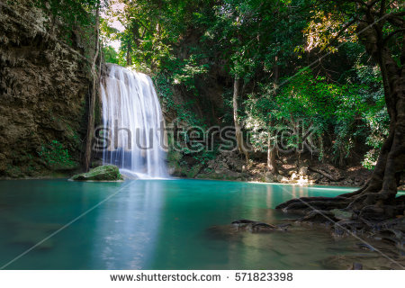 Erawan Waterfall clipart #10, Download drawings