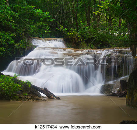 Erawan Waterfall clipart #14, Download drawings