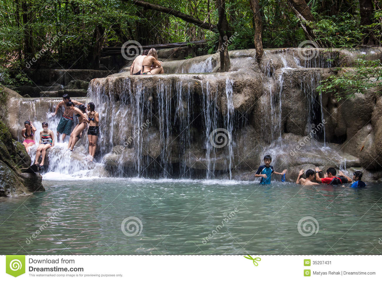 Erawan Waterfall clipart #16, Download drawings