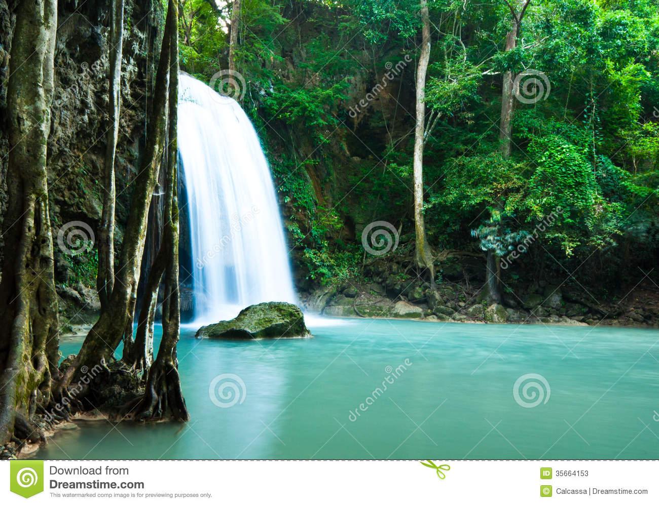 Erawan Waterfall clipart #3, Download drawings