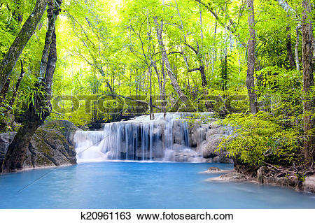 Erawan Waterfall clipart #5, Download drawings