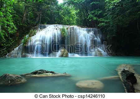 Erawan Waterfall clipart #3, Download drawings