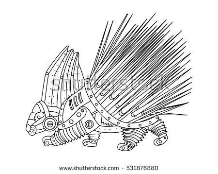 Erethizontidae coloring #13, Download drawings