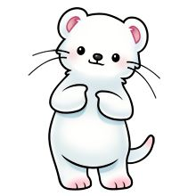 Ermine clipart #2, Download drawings