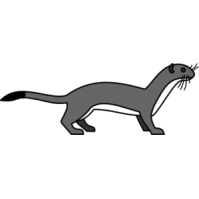 Ermine clipart #7, Download drawings