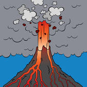 Eruption clipart #2, Download drawings