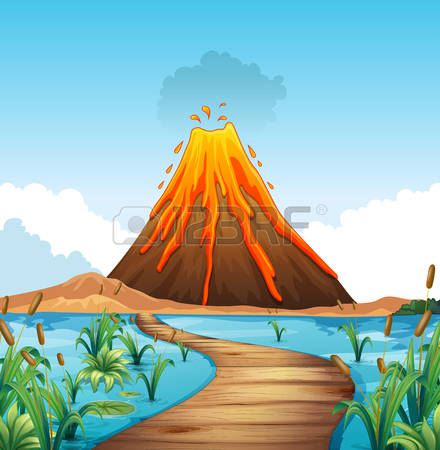 Volcano clipart #13, Download drawings