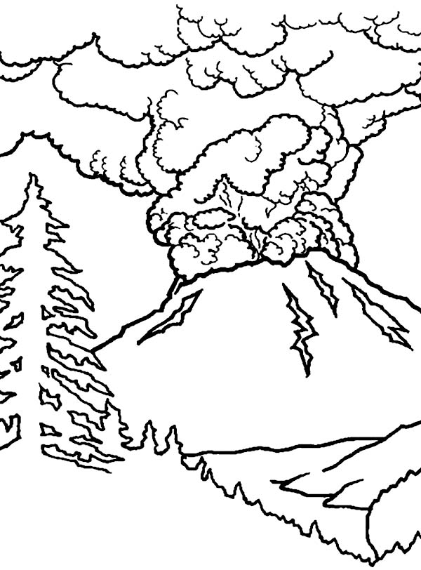 Eruption coloring #19, Download drawings