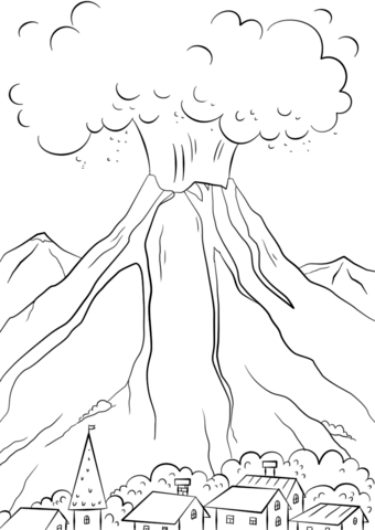 Eruption coloring #17, Download drawings