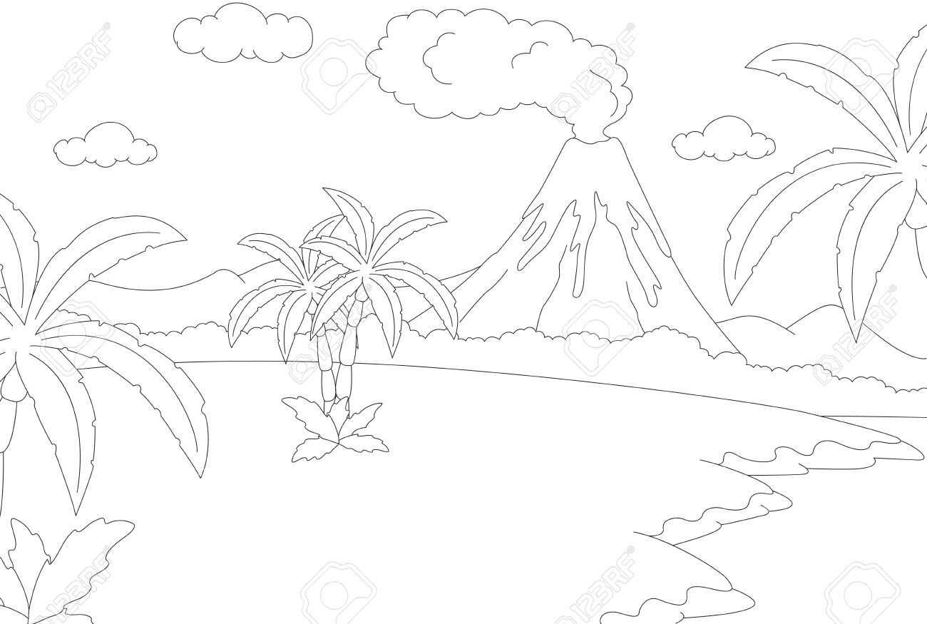 Eruption coloring #3, Download drawings