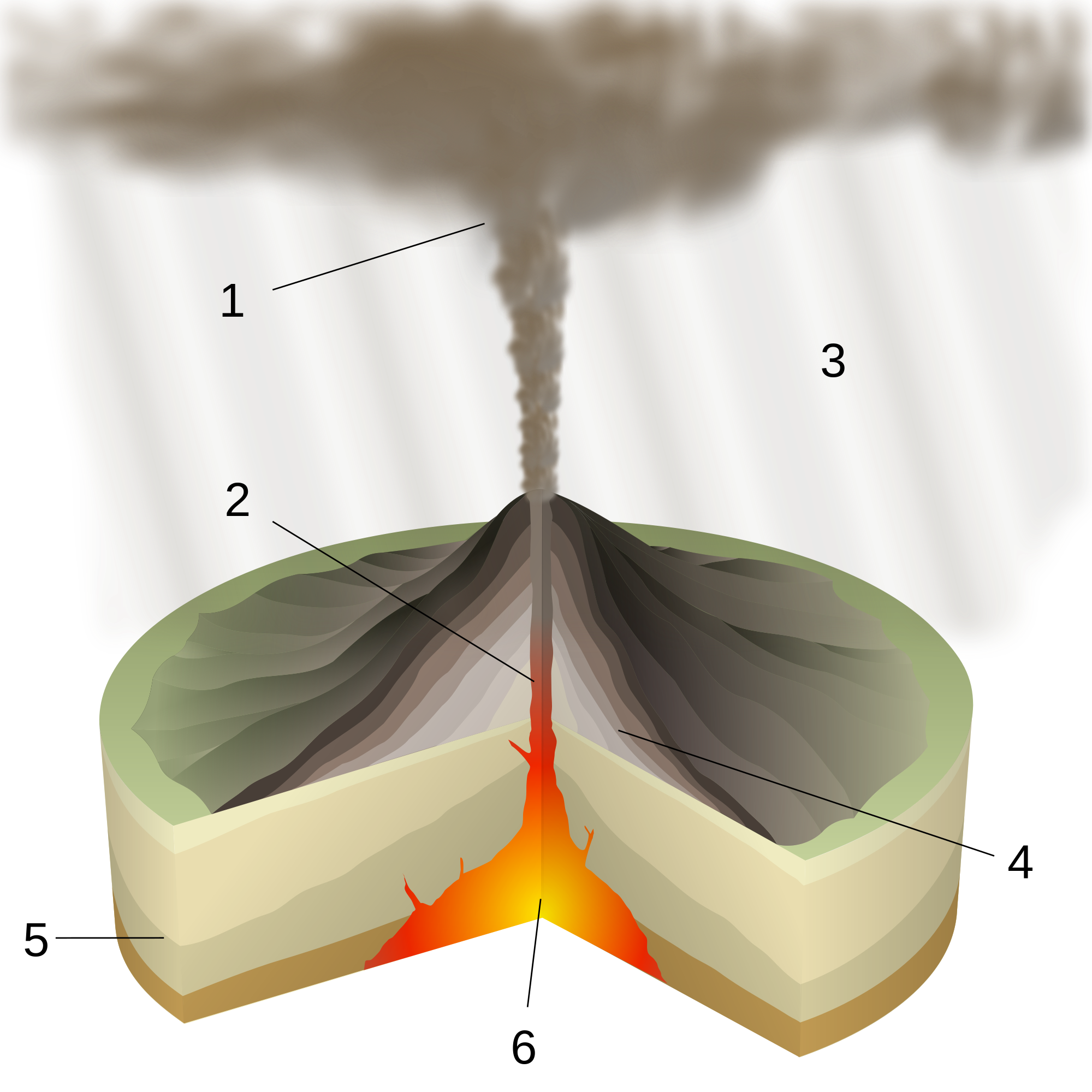Stratovolcano svg #15, Download drawings
