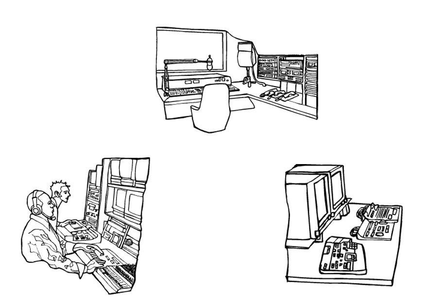 Estudio coloring #1, Download drawings