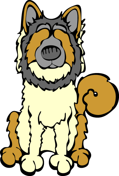 Eurasier clipart #4, Download drawings