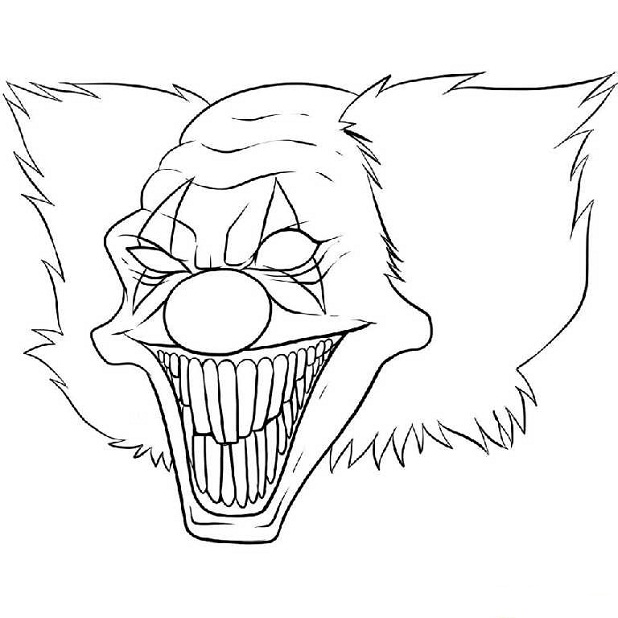 Evil coloring #17, Download drawings