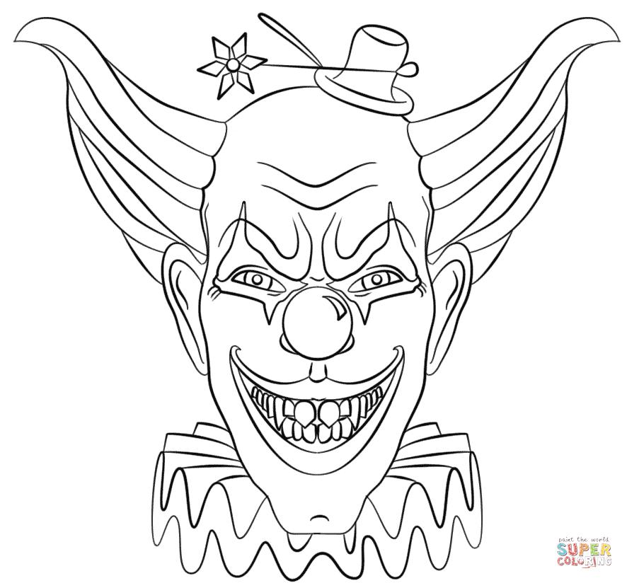 Evil coloring #12, Download drawings
