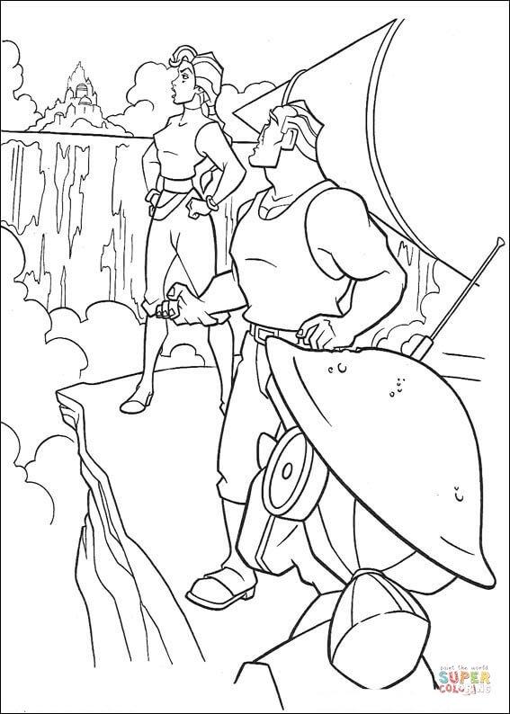 Exploration coloring #6, Download drawings