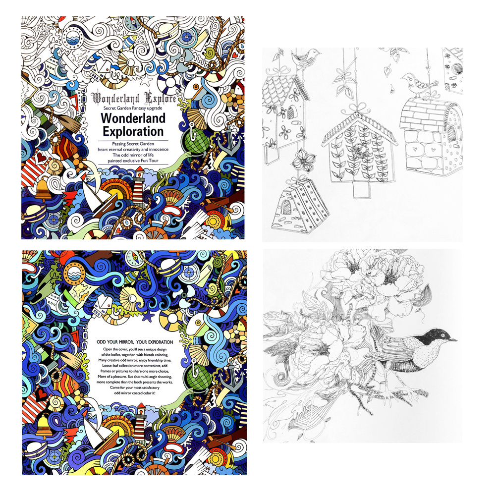 Exploration coloring #2, Download drawings