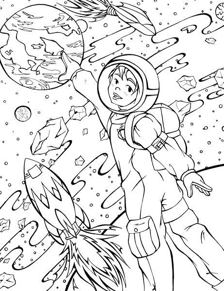Exploration coloring #5, Download drawings