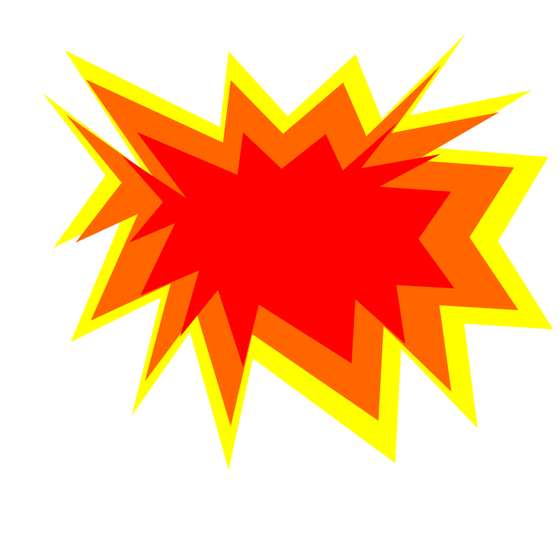 Explosion clipart #6, Download drawings