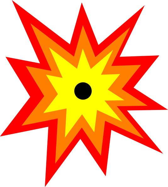 Explosion clipart #19, Download drawings