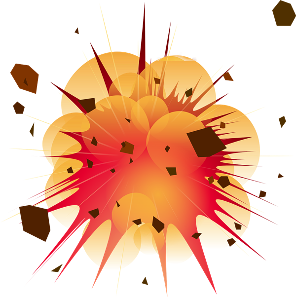 Explosion clipart #2, Download drawings