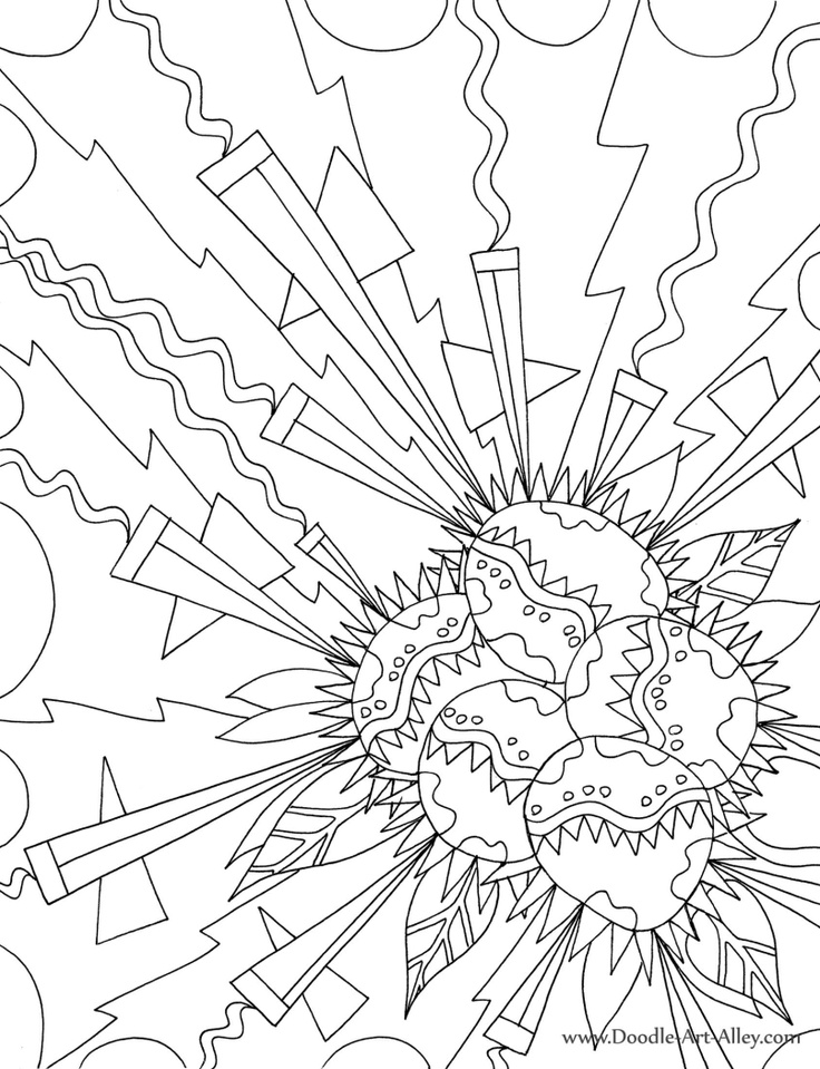Explosion coloring #13, Download drawings