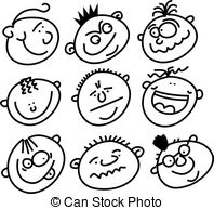 Expressive clipart #20, Download drawings
