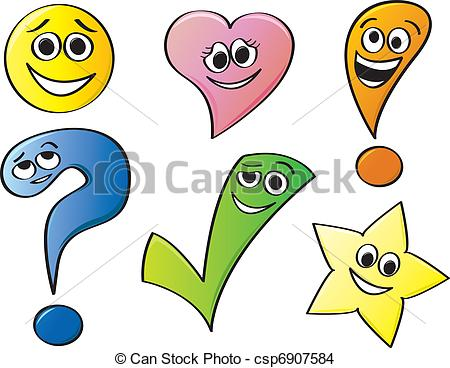 Expressive clipart #5, Download drawings