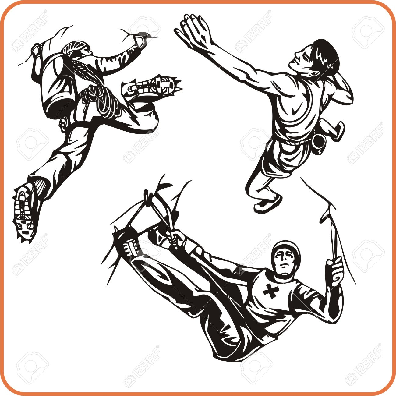 Extreme Climbing clipart #5, Download drawings