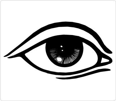 Eye clipart #12, Download drawings