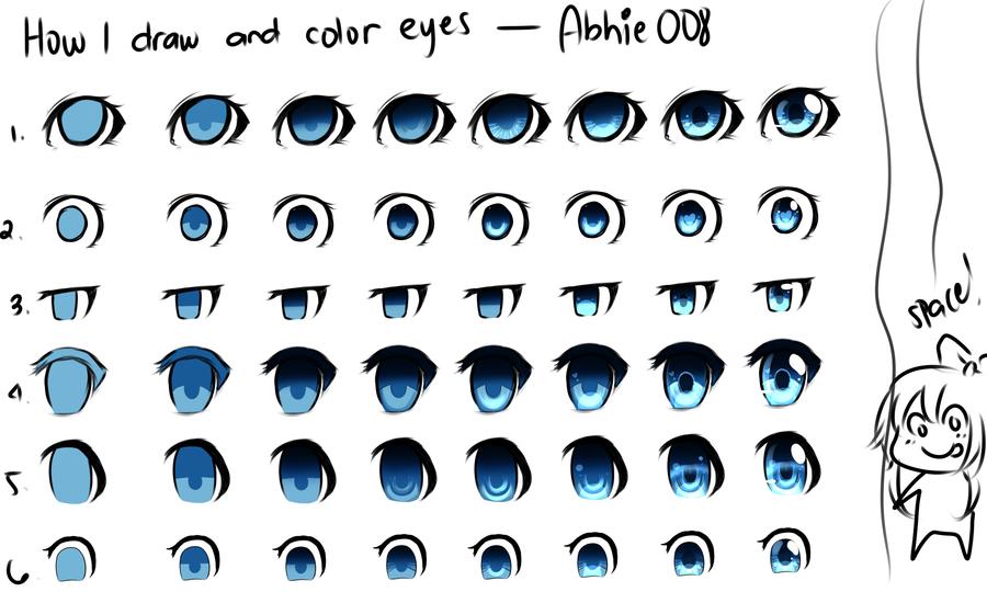Eye coloring #6, Download drawings