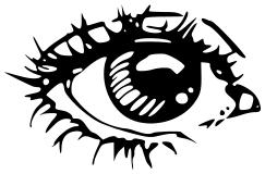 Black Eyes coloring #7, Download drawings