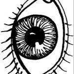 Eye coloring #15, Download drawings