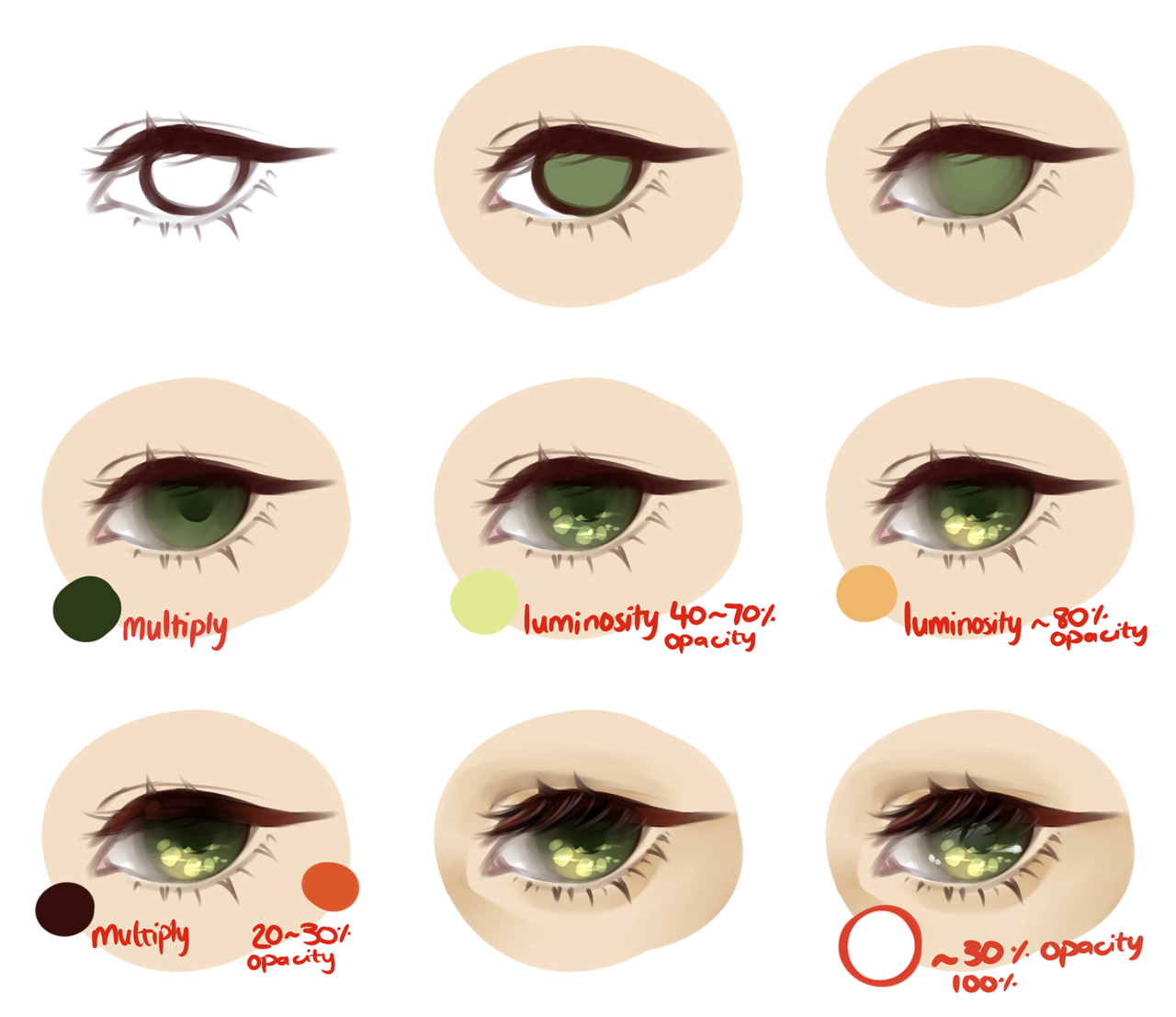 Eye coloring #1, Download drawings