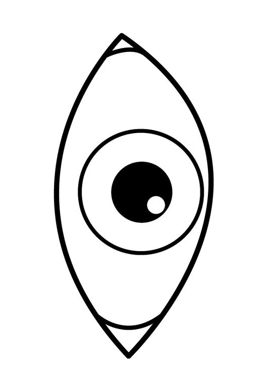 Eye coloring #7, Download drawings