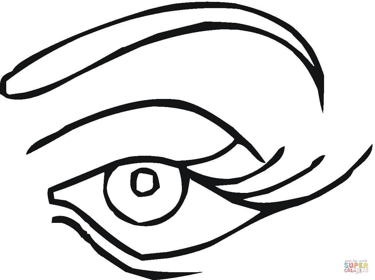 Eye coloring #19, Download drawings