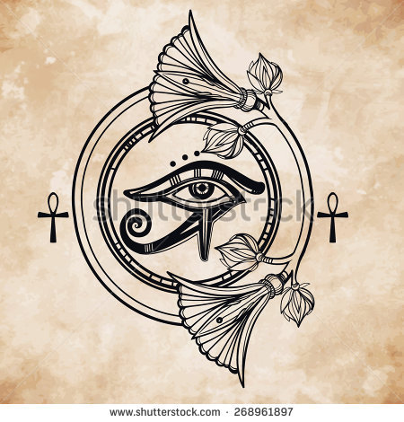 Eye Of Horus coloring #12, Download drawings