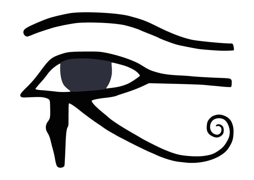 Eye Of Horus coloring #5, Download drawings