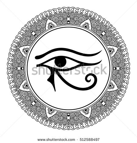 Eye Of Horus coloring #11, Download drawings